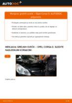 Kako zamenjati avtodel grelne svečke na avtu Opel Corsa D – vodnik menjave