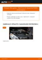 Kako zamenjati avtodel filter goriva na avtu Opel Corsa D – vodnik menjave