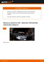 PDF priročnik za zamenjavo: Zracni filter BMW 1 Coupe (E82)