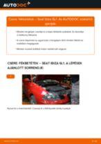 SEAT szerelési kézikönyv online