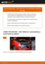 SEAT kezelési útmutató pdf