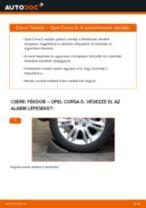 Fékdob-csere Opel Corsa D gépkocsin – Útmutató