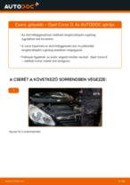 Elülső gólyaláb-csere Opel Corsa D gépkocsin – Útmutató