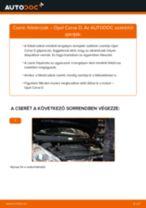 Elülső féktárcsák-csere Opel Corsa D gépkocsin – Útmutató