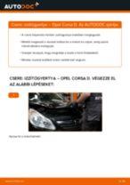 Autószerelői ajánlások - Opel Meriva x03 1.6 16V (E75) Termosztát cseréje