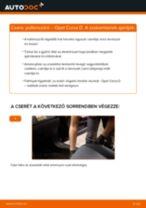 Pollenszűrő-csere Opel Corsa D gépkocsin – Útmutató