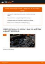Motorolaj és szűrők-csere BMW E82 gépkocsin – Útmutató