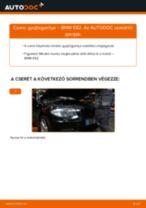 Gyújtógyertya-csere BMW E82 gépkocsin – Útmutató