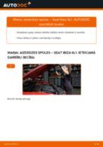 Nomaiņai Ārējā slēdzene SEAT Seat Ibiza 6l1 1.4 16V - remonta instrukcijas