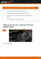 Kā nomainīt: eļļas un filtru BMW E82 - nomaiņas ceļvedis
