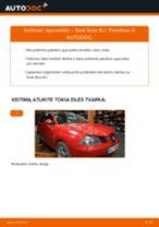 SEAT IBIZA Įtempiklio skriemulys, paskirstymo diržas keitimas: nemokamas pdf