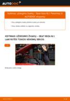 SEAT ALTEA remonto ir priežiūros instrukcija