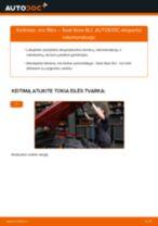 Automechanikų rekomendacijos SEAT Seat Ibiza 6l1 1.4 16V Alyvos filtras keitimui