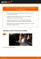 Automechanikų rekomendacijos OPEL Opel Corsa D 1.2 (L08, L68) Spyruoklės keitimui