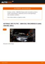 Pakeisti Oro filtras BMW 1 SERIES: instrukcija