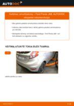 FORD gale ir priekyje Amortizatorius keitimas pasidaryk pats - internetinės instrukcijos pdf