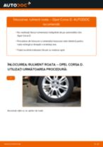 Cum să schimbați: rulment roata din spate la Opel Corsa D   Ghid de înlocuire