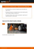 Cum să schimbați: rulment roata din față la Opel Corsa D   Ghid de înlocuire