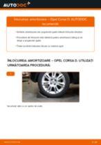 Cum să schimbați: amortizoare din spate la Opel Corsa D   Ghid de înlocuire