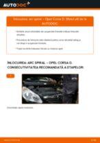 Cum să schimbați: arc spiral din față la Opel Corsa D   Ghid de înlocuire