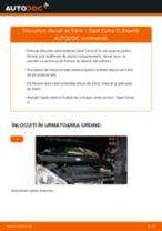 Cum să schimbați: discuri de frână din față la Opel Corsa D   Ghid de înlocuire