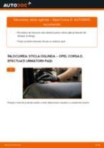 Cum să schimbați: sticla oglinda la Opel Corsa D   Ghid de înlocuire