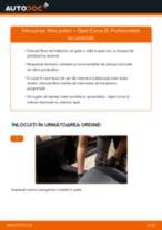 Cum să schimbați: filtru polen la Opel Corsa D   Ghid de înlocuire