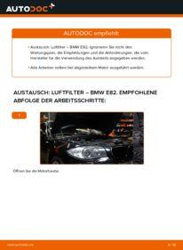 Wie der Wechsel durchführt wird: Luftfilter 120d 2.0 BMW E82 tauschen