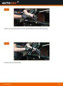 Wie der Wechsel durchführt wird: Scheibenwischer 120d 2.0 BMW E82 tauschen