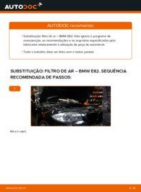 Como realizar a substituição do Filtro de Ar no BMW ? Dê uma olhada no nosso guia detalhado e saiba como fazê-lo