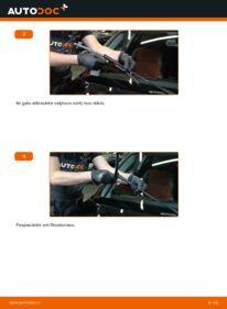 Kaip atlikti keitimą: 120d 2.0 BMW E82 Valytuvo gumelė