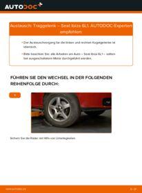 Wie der Wechsel durchführt wird: Traggelenk 1.9 TDI Seat Ibiza 6L1 tauschen