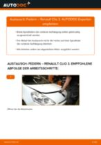 MAZDA 616 Bremssattelhalter wechseln vorne links rechts Anleitung pdf
