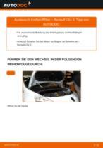 FILTRON PS 980/9 für Clio III Schrägheck (BR0/1, CR0/1) | PDF Handbuch zum Wechsel
