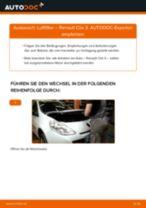 DIY-Leitfaden zum Wechsel von Luftfilter beim RENAULT CLIO