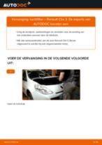 PDF handleiding voor vervanging: Luchtfilter RENAULT Clio III Hatchback (BR0/1, CR0/1)