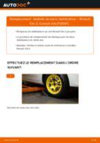 Remplacement Tambours De Frein RENAULT CLIO : pdf gratuit