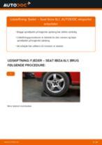 Udskiftning af Fjedre bag og foran SEAT gør det selv - online manualer pdf