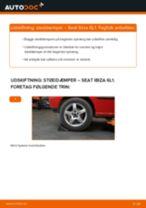 Seat Ibiza IV Sportcoupe reparations- og vedligeholdelsesvejledning