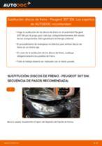 Recomendaciones de mecánicos de automóviles para reemplazar Discos de Freno en un PEUGEOT Peugeot 307 SW 1.6 16V