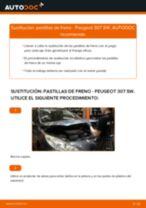 Cómo cambiar: pastillas de freno de la parte delantera - Peugeot 307 SW | Guía de sustitución