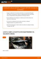 Manual online sobre el cambio de Muelle pinza de freno por su cuenta en Renault Twingo 2
