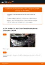 Cómo cambiar: aceite y filtro - Peugeot 307 SW | Guía de sustitución