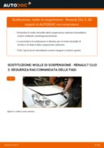 Come cambiare molle di sospensione della parte anteriore su Renault Clio 3 - Guida alla sostituzione