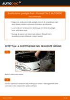 Come cambiare pastiglie freno della parte anteriore su Renault Clio 3 - Guida alla sostituzione