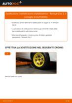 Come cambiare biellette barra stabilizzatrice della parte anteriore su Renault Clio 3 - Guida alla sostituzione