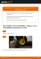 Learn how to fix the RENAULT Shock Absorber front trouble
