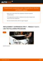 Replacing Struts RENAULT CLIO: free pdf