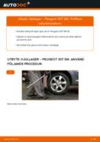 Byta hjullager bak på Peugeot 307 SW – utbytesguide
