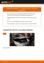 Byta bromsskivor fram på Peugeot 307 SW – utbytesguide